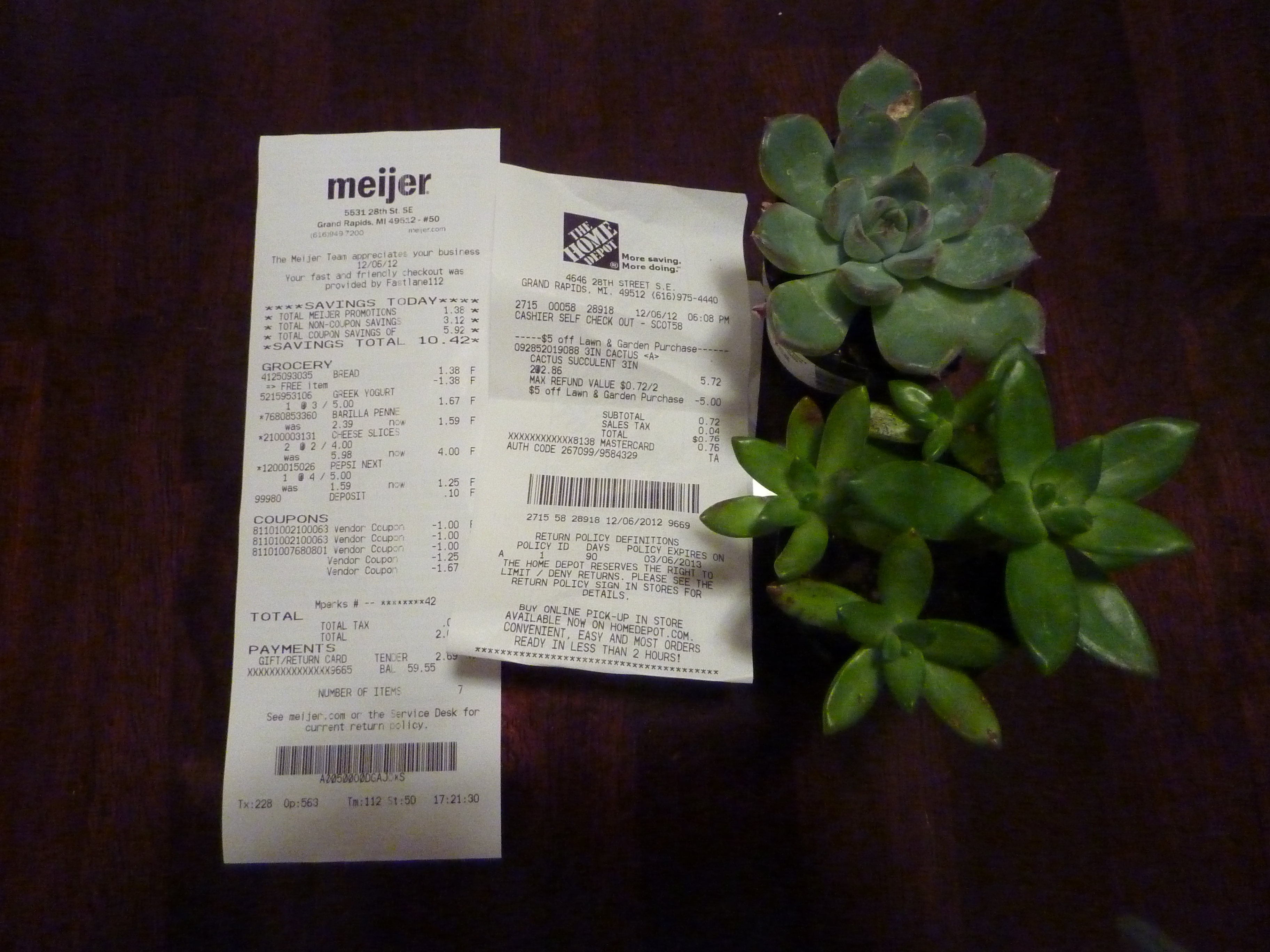 meijer and home depot haul
