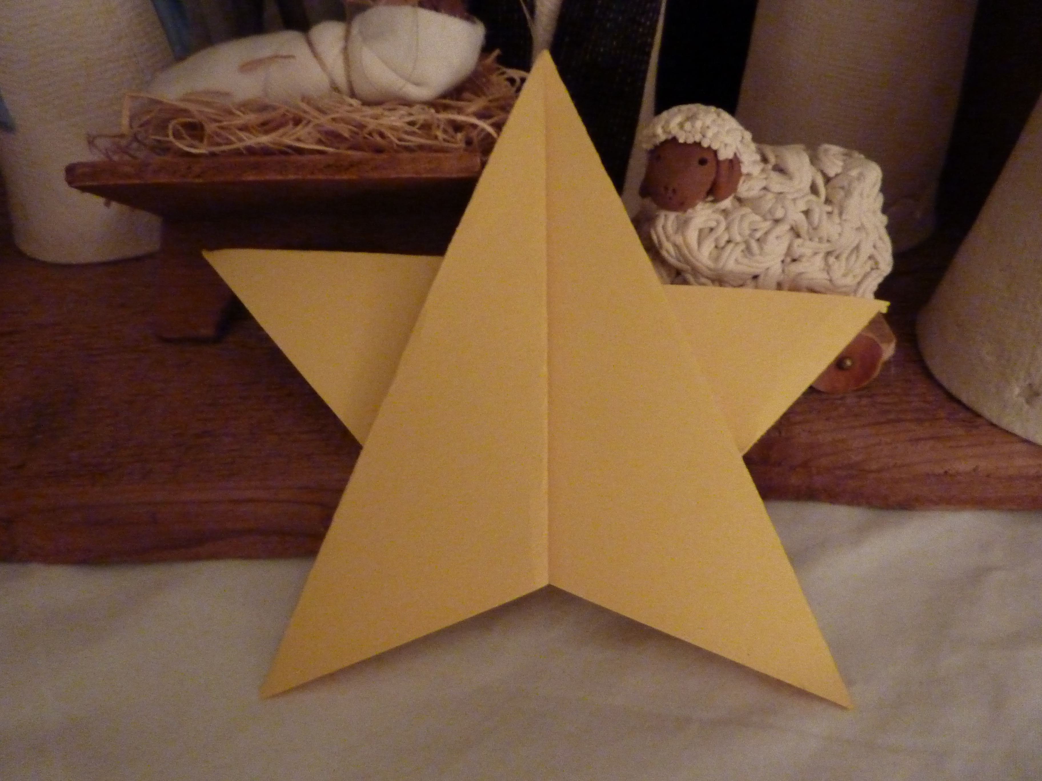 5-point origami star