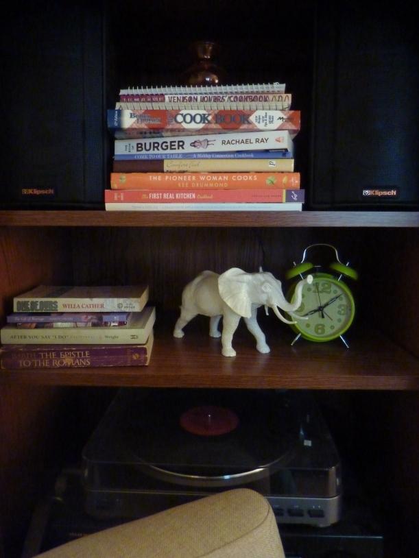 "white ""ceramic"" elephant"