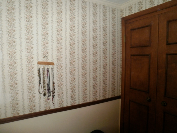 old master bedroom wallpaper with butterflies and moths