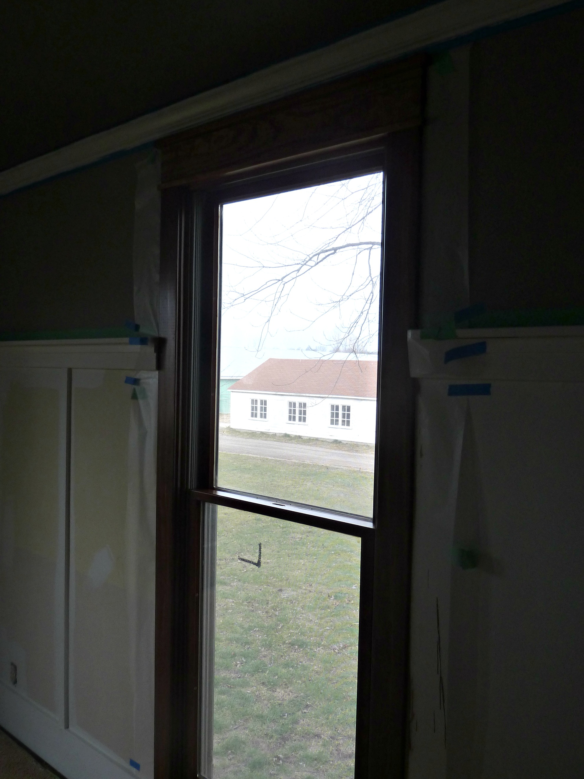 craftsman style trim with board and batten
