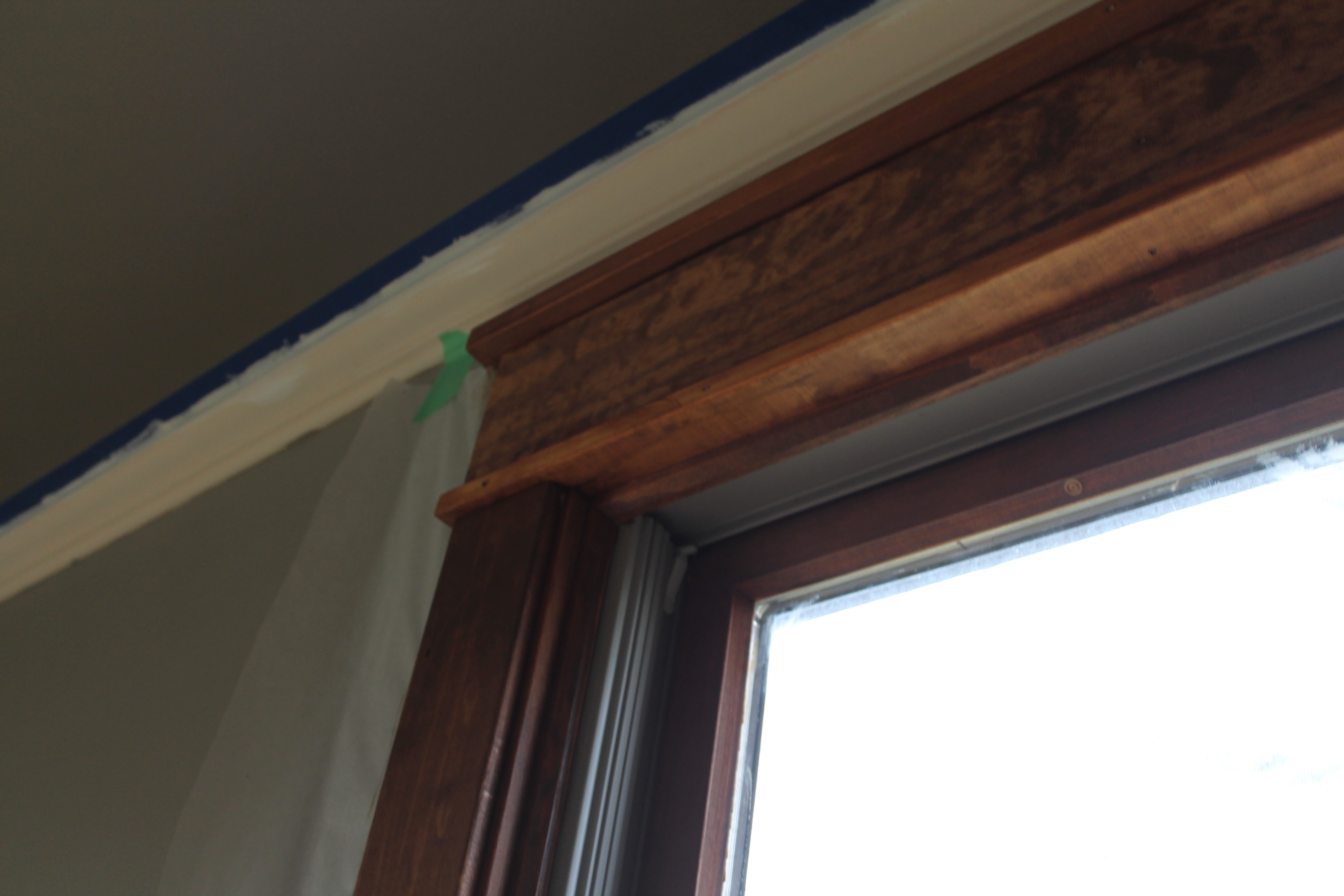 Painting Varnished Wood Trim