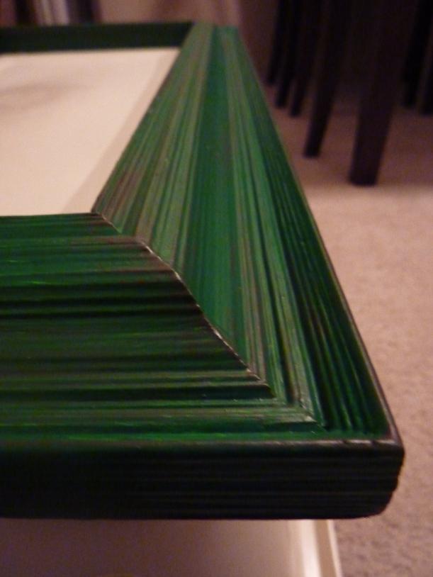 Distressed Emerald Green Frame