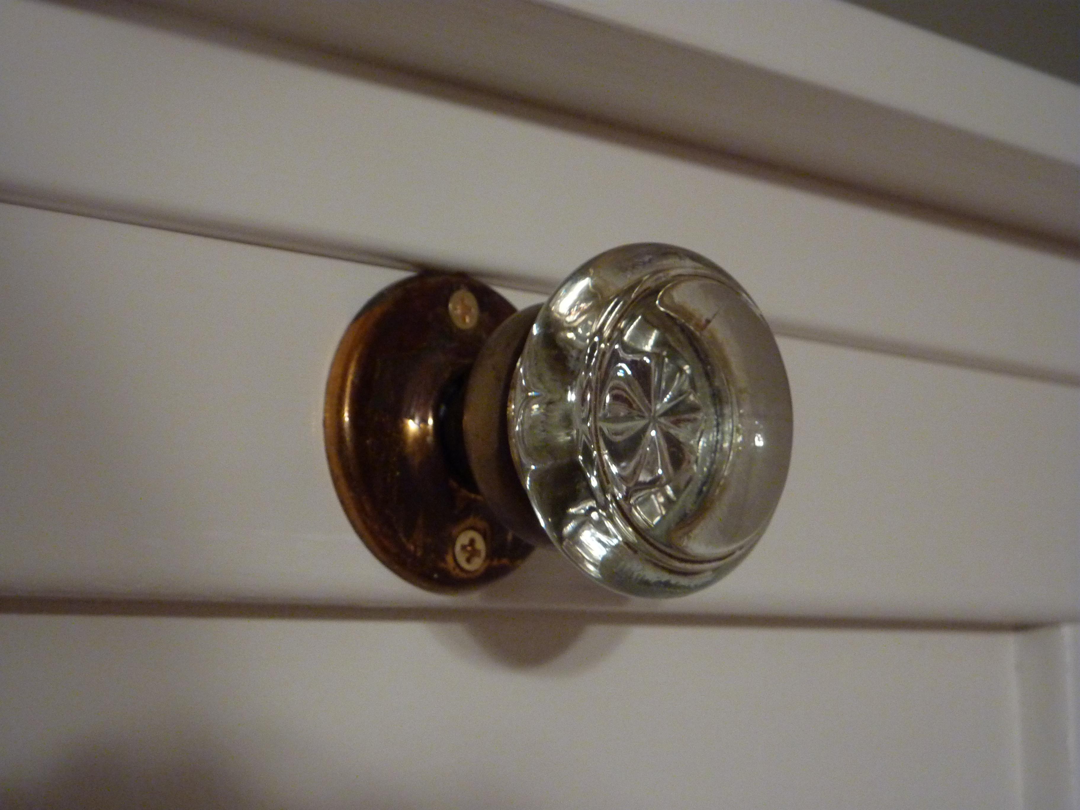 antique doorknob hook