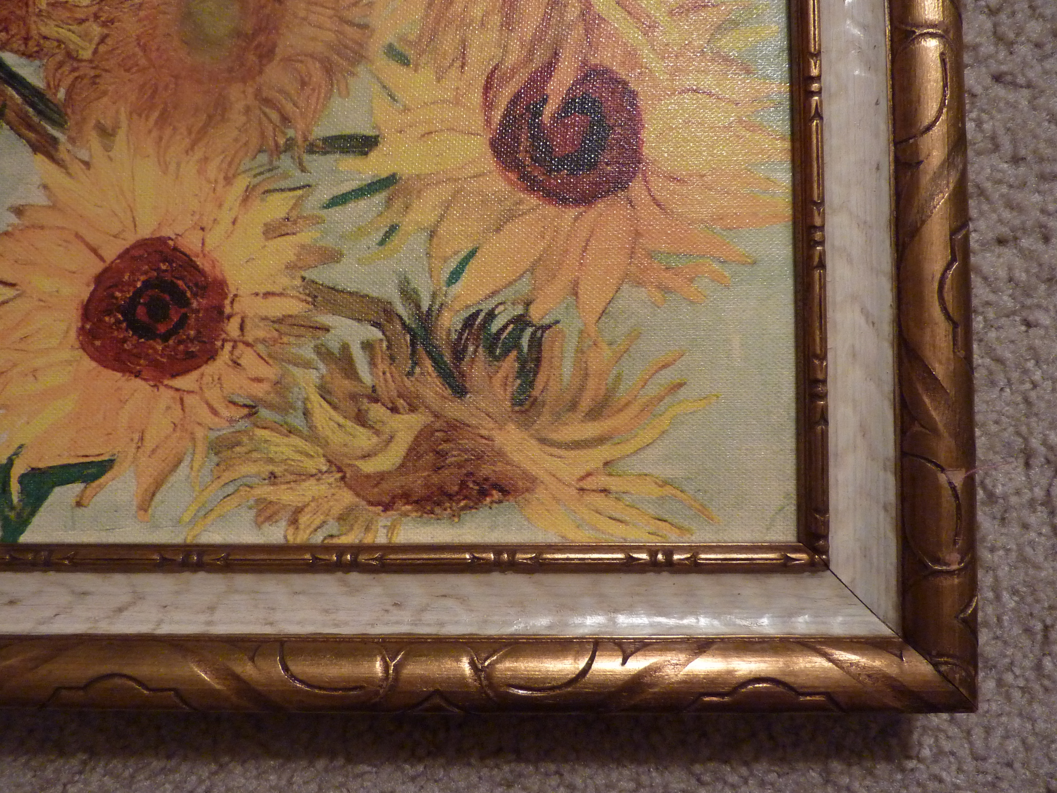 Mass-Produced van Gogh with an ornate frame