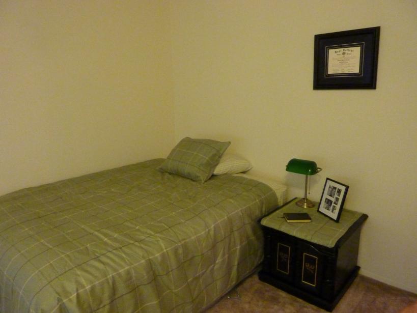 Kenny's Lansing Apartment Bedroom
