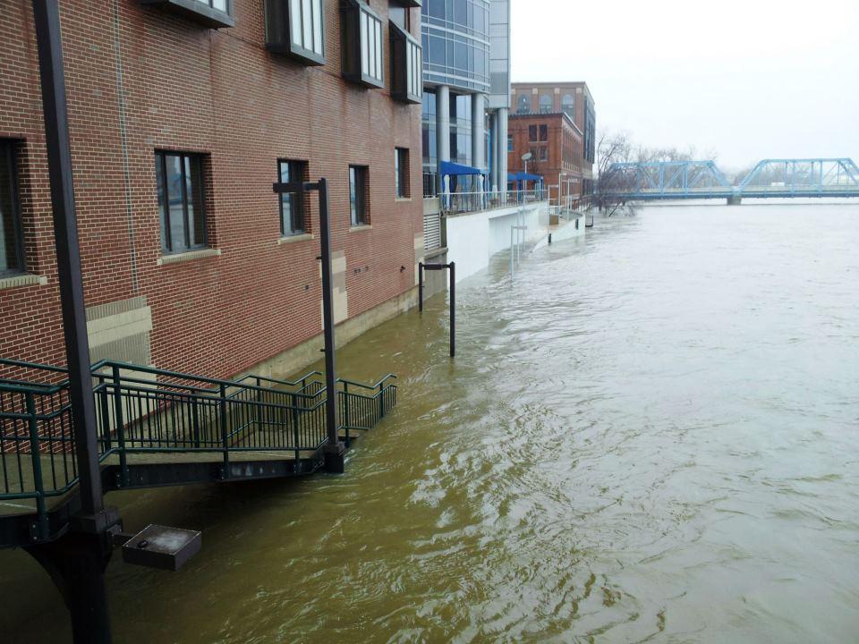 Grand Rapids April 18 Flood 2