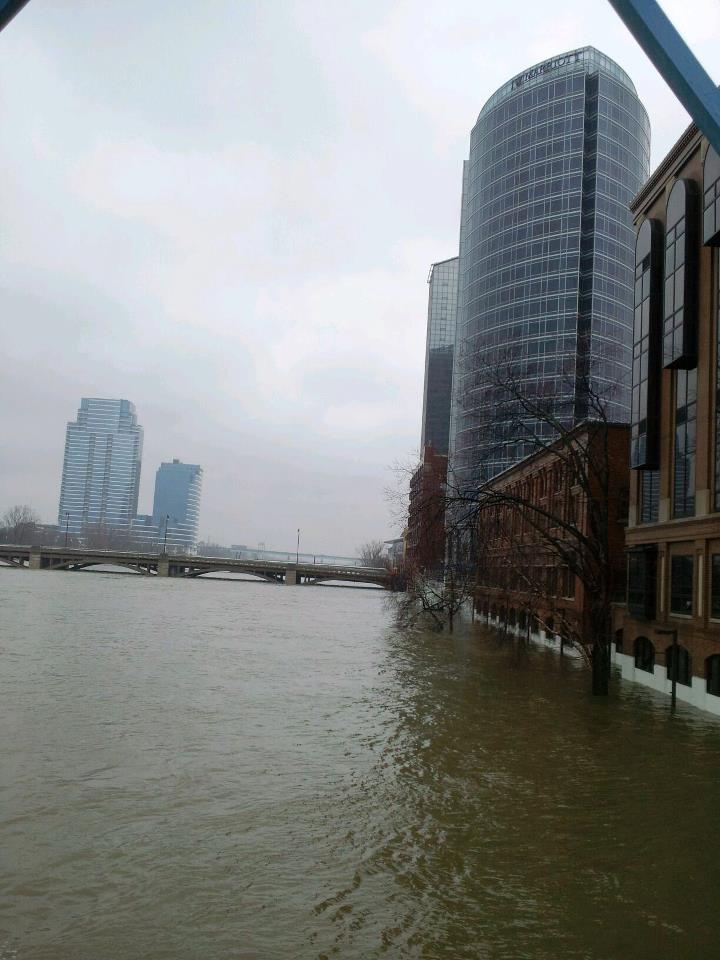 Grand Rapids April 18 Flood
