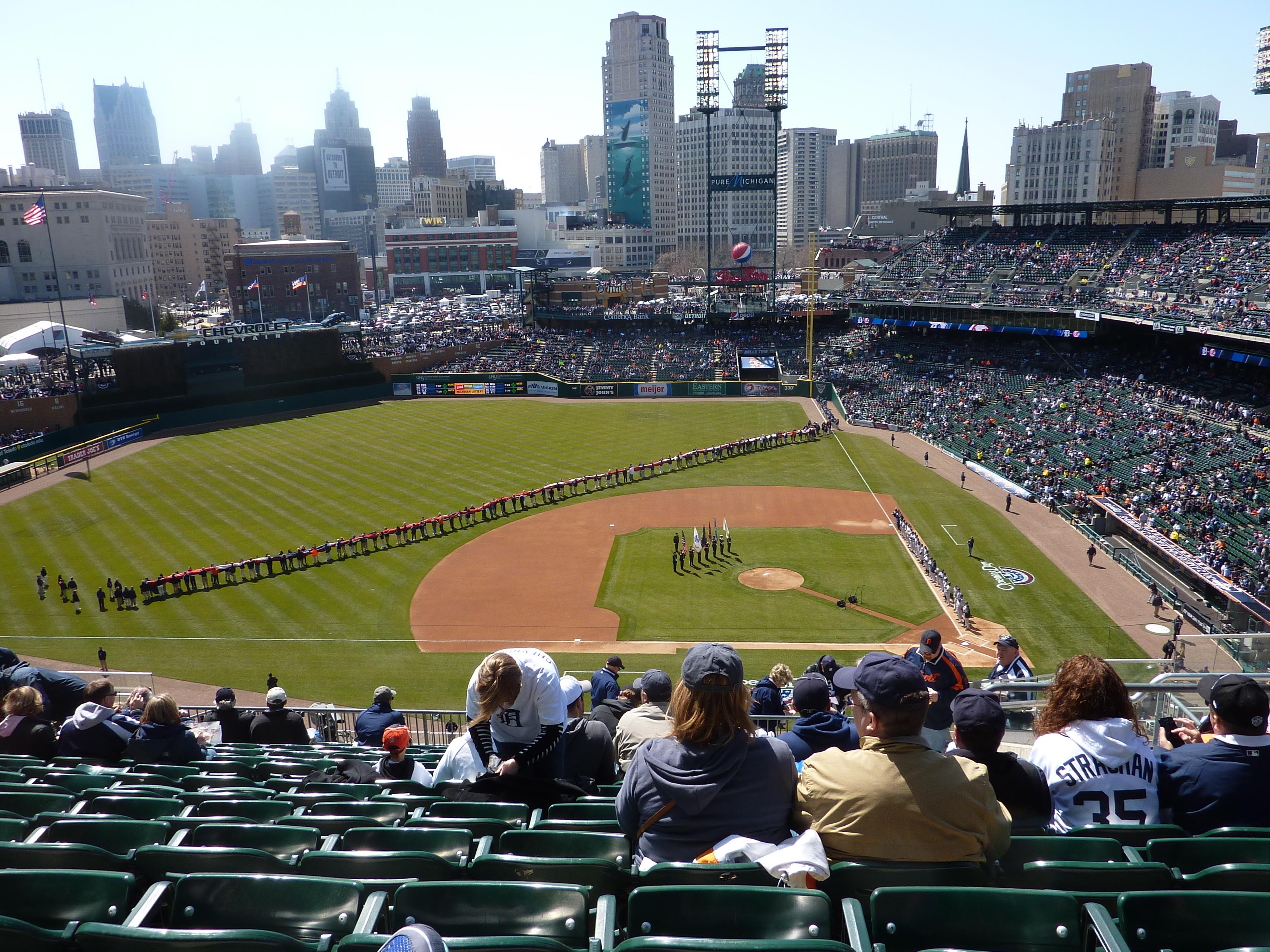 Tiger's Stadium, opening day 2013