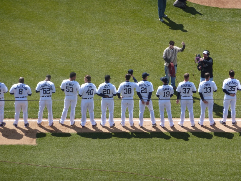 Introducing the 2013 detroit tiger's