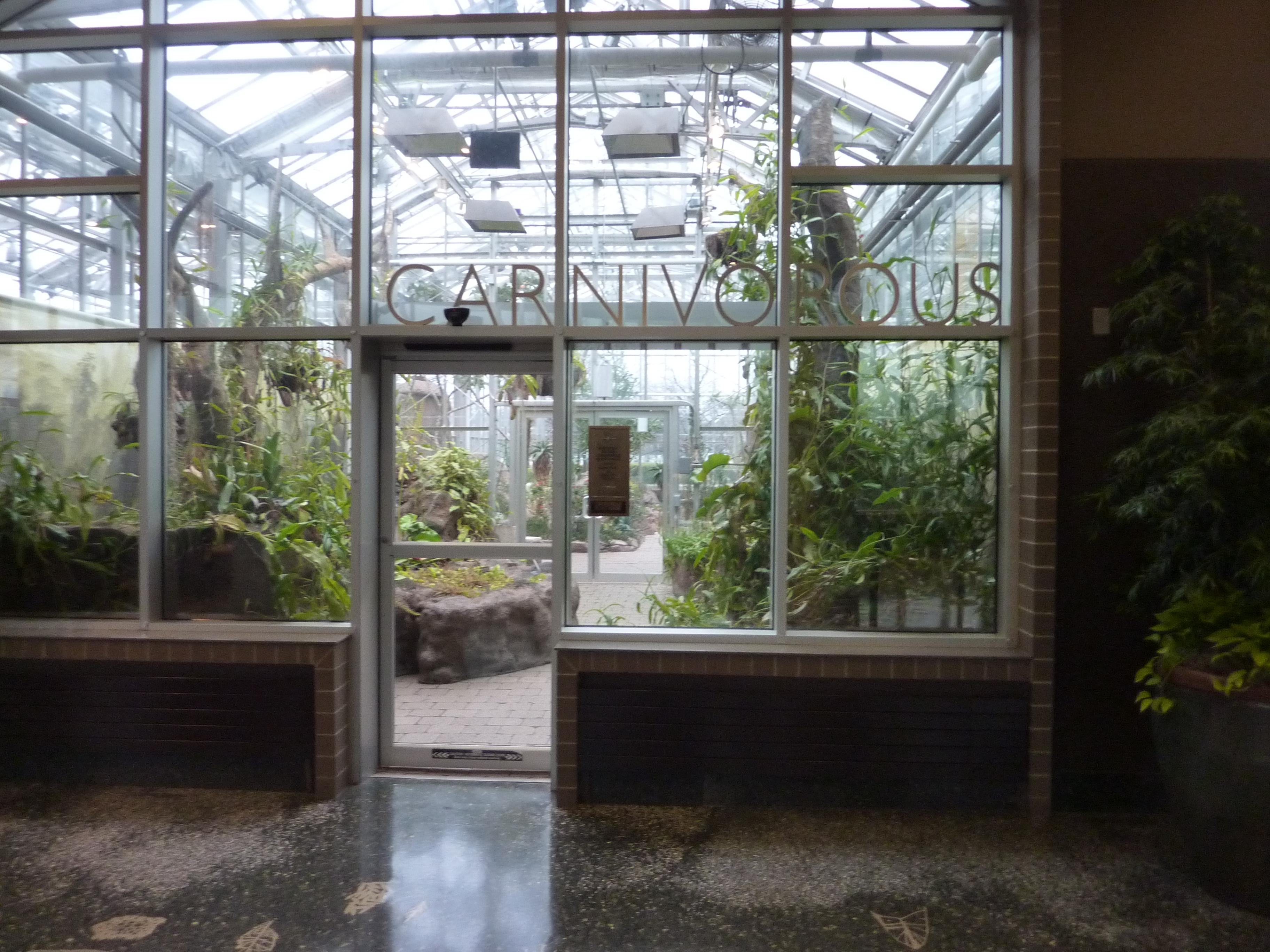 frederick meijer gardens carnivorous plants room