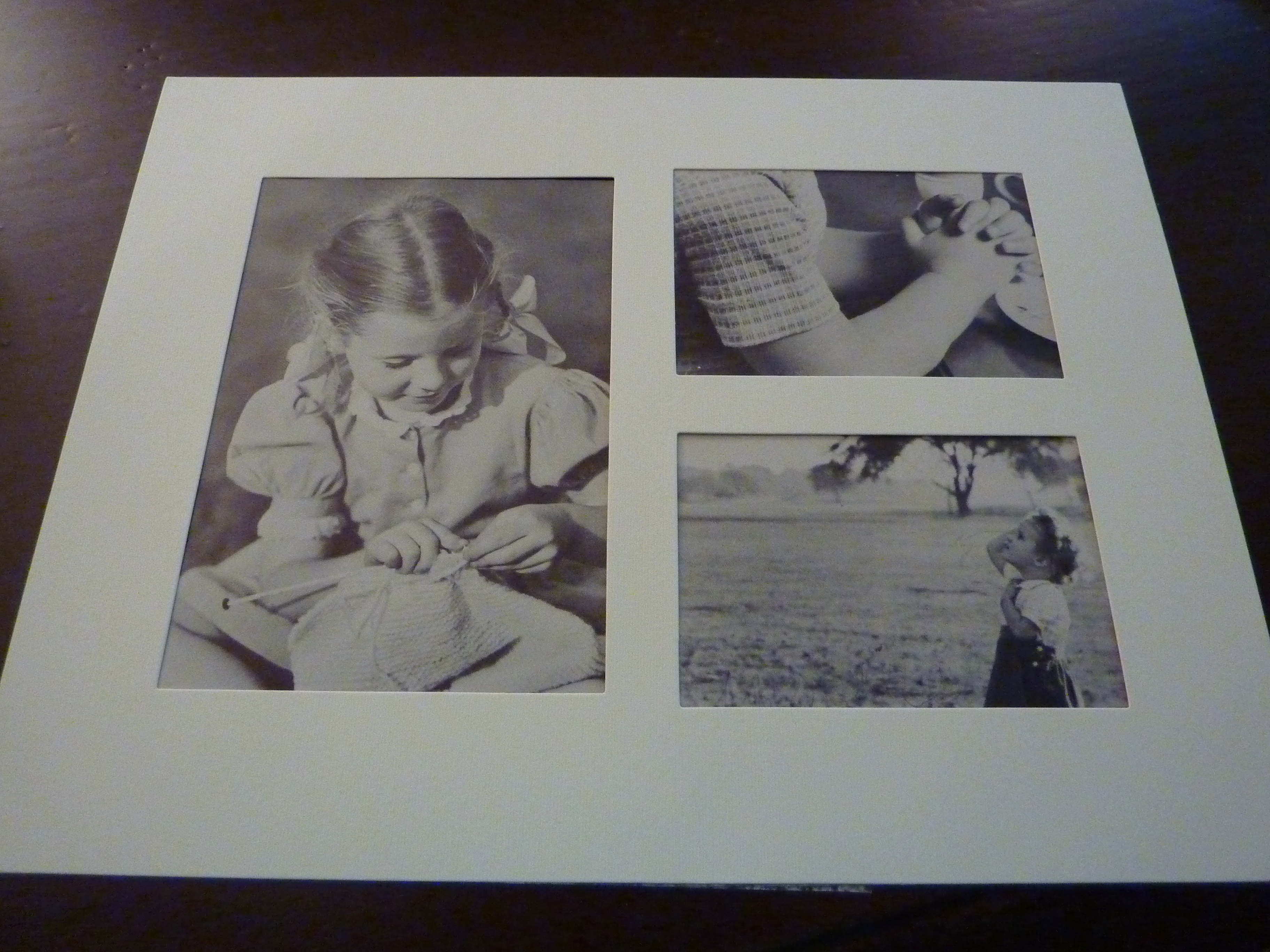 book pictures in frame