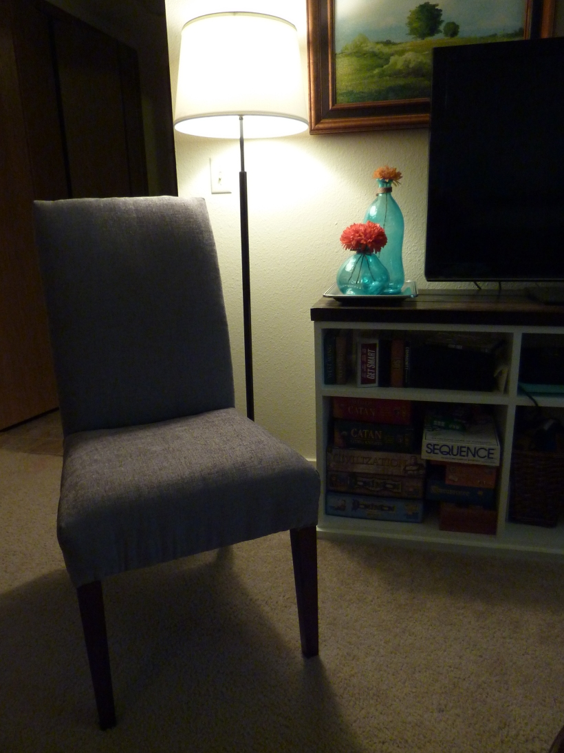 Reupholstering a Parson's Chair