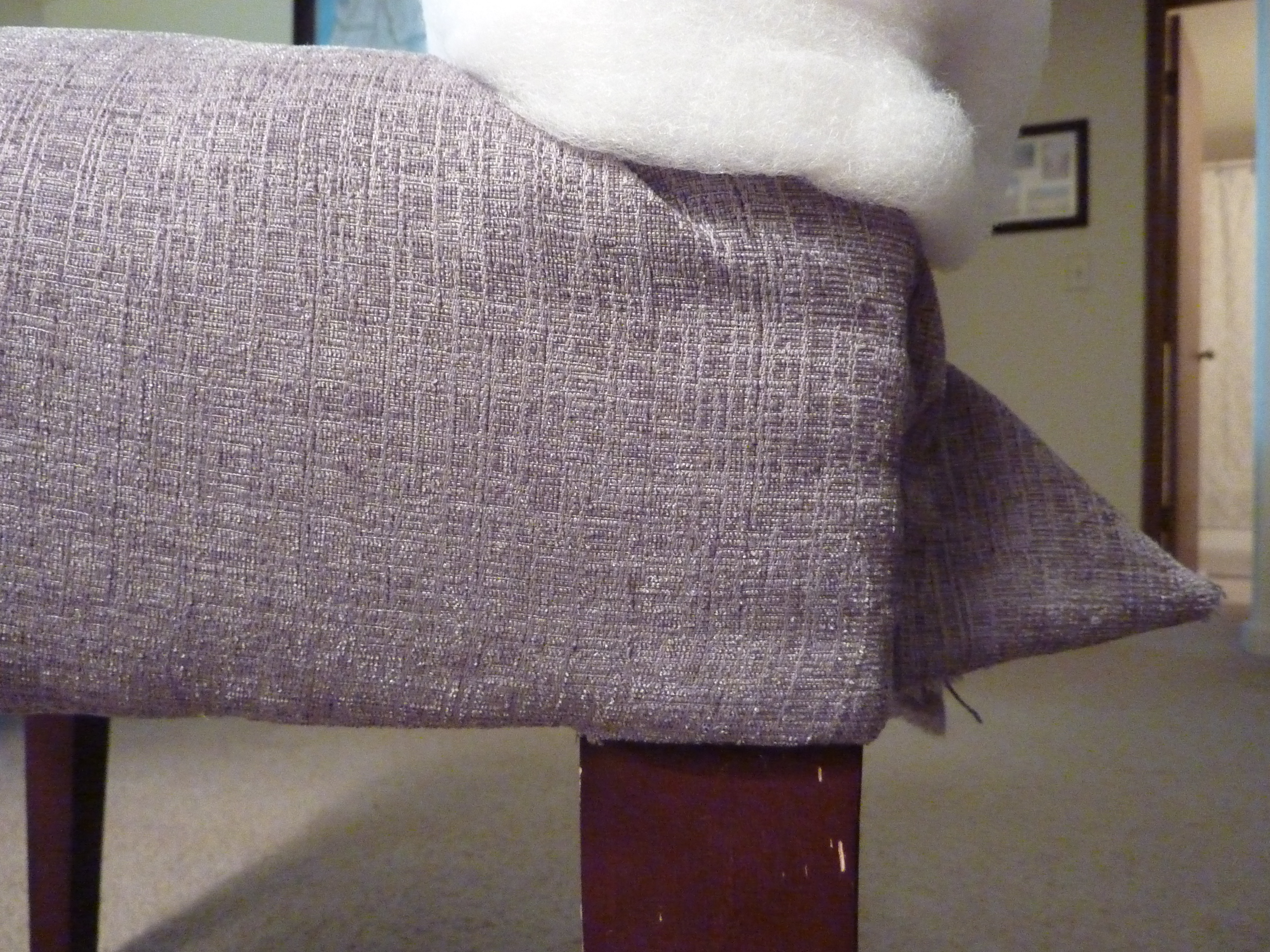 Reupholstering a Parson's Chair (2)