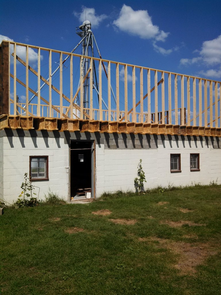 framing exterior walls